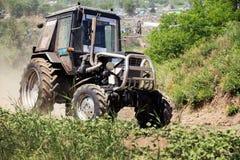 Farm tractor Stock Photography