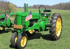 Farm Tractor Farmland Stock Image