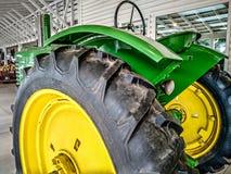 Farm tractor ready for harvest season. Farm tractor ready for harvest  season Stock Photography