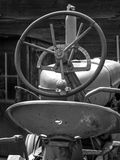 Farm Tractor Steering Wheel Stock Photography