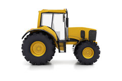 Farm tractor. On a white background Stock Images