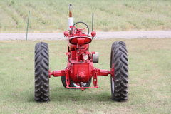 Farm Tractors, Ready for work. This farm tractor is waiting for work at a nearby New England farm royalty free stock photography
