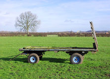 Farm Trailer Stock Image