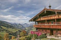 Farm in Tyrol Stock Photo