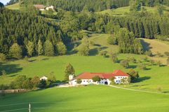 Farm in Upper Austria Royalty Free Stock Images