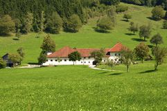 Farm in Upper Austria Stock Photos