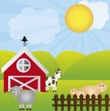 Farm vector Royalty Free Stock Image