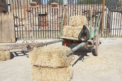 Farm wagon Stock Image