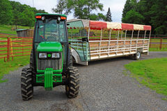 Farm Wagon Royalty Free Stock Photos