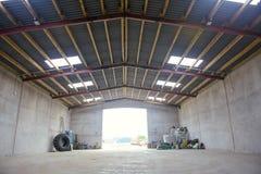 Farm warehouse Royalty Free Stock Photos