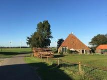 Farm in Warns Stock Image