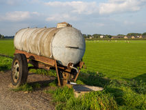 Farm water tanker Royalty Free Stock Photos