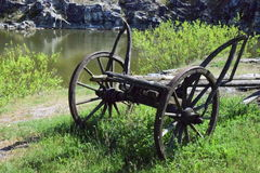 Farm wheel Stock Photo