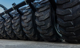 Farm Wheels Royalty Free Stock Photos