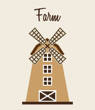 Farm windmill Stock Images