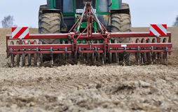 Farm work stock image