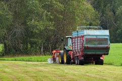 Farm Work Royalty Free Stock Photography