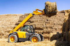 Farm work tractor Royalty Free Stock Images