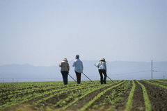 Farm workers Royalty Free Stock Photos