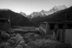Farm at Yading Village, Sichuan, China Royalty Free Stock Photos