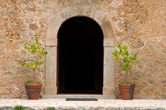 farma drzwiami Fotografia Royalty Free