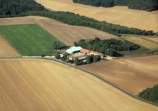 farma odizolowane Fotografia Stock