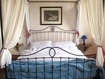 farma Tuscan łóżka fotografia royalty free