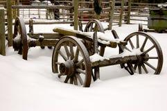 farma wózków Zdjęcia Royalty Free