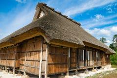 farma zbiegł strzechą Japan Fotografia Royalty Free