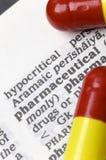 Farmacéutico foto de archivo libre de regalías