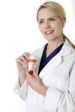 Farmacéutico profesional de la señora Imagen de archivo