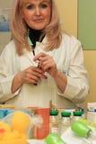 Farmacêutico   Fotografia de Stock Royalty Free