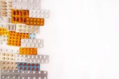 Farmaceutische de pillenvitaminen van de industriedrugs stock foto's