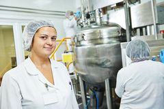 Farmaceutische fabrieksarbeiders Royalty-vrije Stock Fotografie