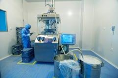 Farmaceutische installatie Royalty-vrije Stock Fotografie
