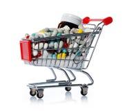 Farmaceutische kleinhandels Royalty-vrije Stock Foto's