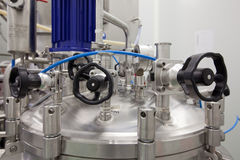 Farmaceutische laboratoriumapparatuur Royalty-vrije Stock Afbeelding