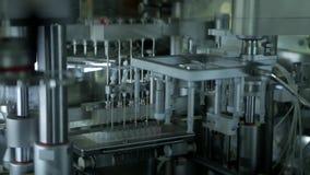 Farmaceutische productie-installatie stock footage