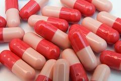 farmaceutisk bakgrund Fotografering för Bildbyråer