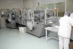 farmaceutisk industri Arkivfoton