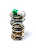 farmaceutisk industri Arkivbild