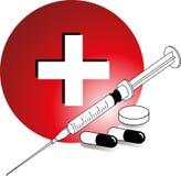 farmaceutisk medicin stock illustrationer