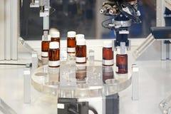 Farmaceutisk tillverkning Arkivfoto