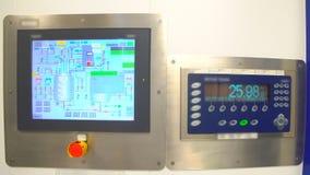 farmaceutisk utrustning Farmaceutisk maskin lager videofilmer