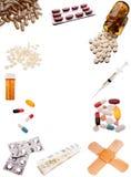 farmaceutiska produkter Arkivbild