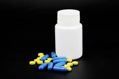 farmaceutiska produkter Arkivfoto