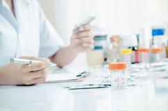 Farmaceutiskt lager Fotografering för Bildbyråer