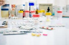 Farmaceutiskt lager Royaltyfria Foton