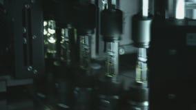Farmaceutyczna produkcja Leki w ampułkach zdjęcie wideo