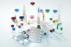 Farmaceutyczni produkty Zdjęcie Royalty Free